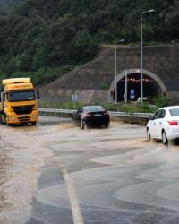 Akçakoca'da yağmur felaketi