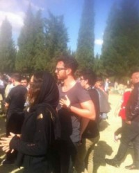 Murat Boz Soma'ya gitti