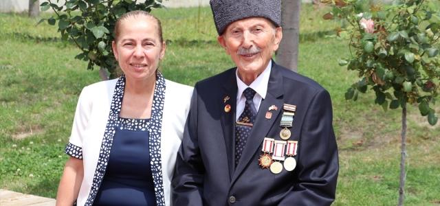 96 yaşında gazilerin hizmetinde