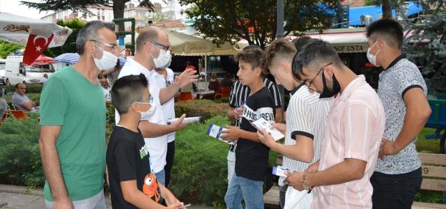 AFAD'dan Havza'da gönüllülük çalışması