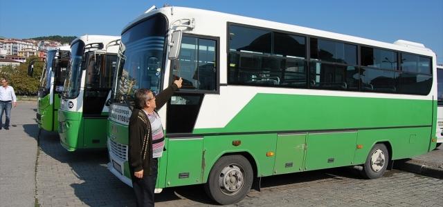 Alaplı'da halk otobüslerinden hırsızlık