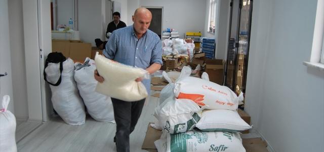 Alaplı'da İdlib için yardım kampanyası