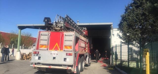 Amasya'da bir fabrikada yangın çıktı