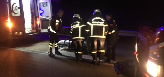 Amasya'da otomobil devrildi: 5 yaralı