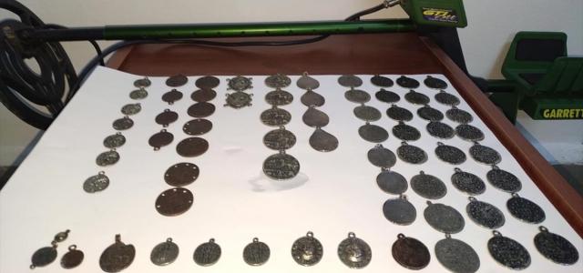 Amasya'da tarihi eser operasyonunda 69 metal obje ele geçirildi