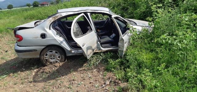 Amasya'da trafik kazaları: 4 yaralı