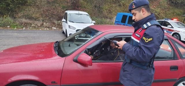 Aranan 77 zanlı jandarma uygulamasında yakalandı