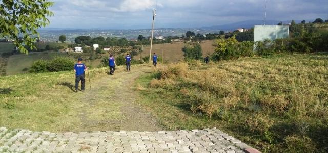 Arkeolojik vadide yürüyüşe çıkan kişinin kaybolması