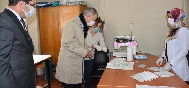 Artvin'de maske üretimine başlandı