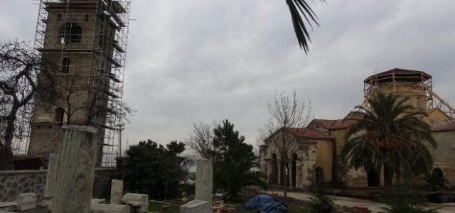 Ayasofya Camii'nde restorasyon sevinci