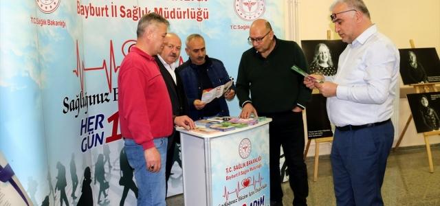 Bayburt'ta Dünya Kanser Günü etkinliği
