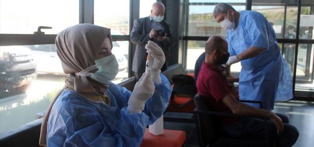 """Bayburt'ta organize sanayi bölgesinde """"mobil aşı"""" uygulaması başladı"""