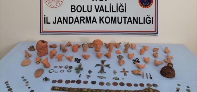 Bolu'da 173 parça tarihi eser ele geçirildi