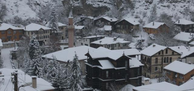 Bolu'da kar etkisini kaybetti
