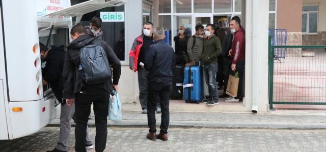 Bolu'da karantina süresi dolan 146 kişi evlerine uğurlandı