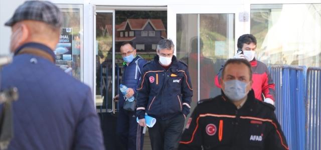 Bolu'da karantina süresi dolan 149 kişi evlerine gönderildi