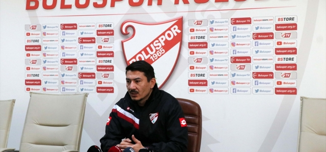"""Boluspor Teknik Direktörü Fırat Gül: """"Karamsar olacak bir durum yok"""""""