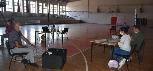 Boyabat'ta okullarda çalışacak geçici işçiler kura ile belirlendi