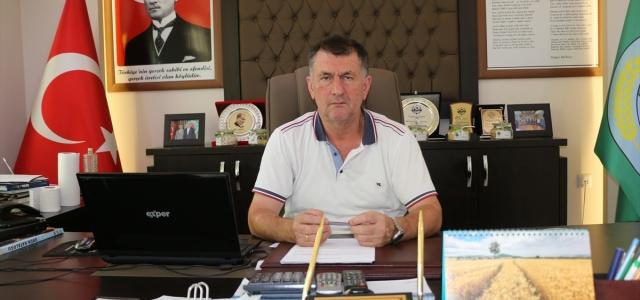 Çarşamba Ziraat Odası Başkanı Muammer Aydemir: