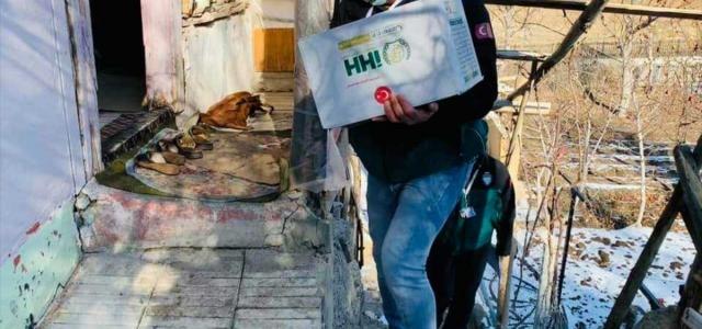 Çorum İHH'dan sokağa çıkma kısıtlamasında 80 aileye yardım