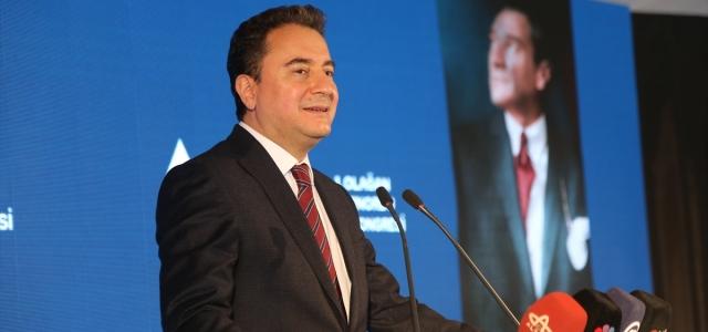 DEVA Partisi Genel Başkanı Babacan, Ordu'da partisinin Altınordu 1. Olağan Kongresi'nde konuştu: