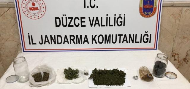 Düzce'de uyuşturucuyla mücadele