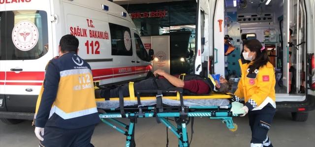 Düzce'de zincirleme trafik kazası: 3 yaralı