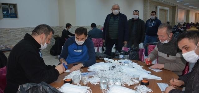 Ereğli'de hanelere sağlık seti dağıtılıyor