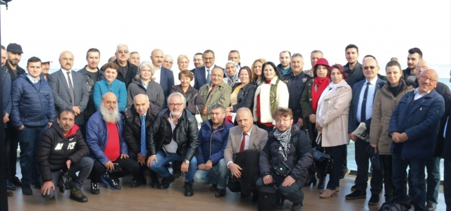 Giresun Valisi Harun Sarıfakıoğulları, gazetecilerle buluştu