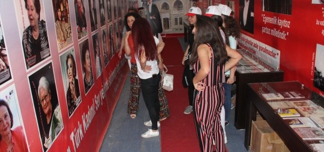Havza'da 100. Yıl Müze Sergi Tır ilgi gördü
