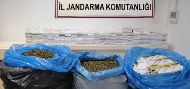 Kaçak çay ve sigara operasyonunda 16 gözaltı