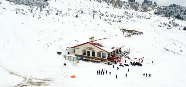 Karabük Keltepe'de kayak sezonu başladı
