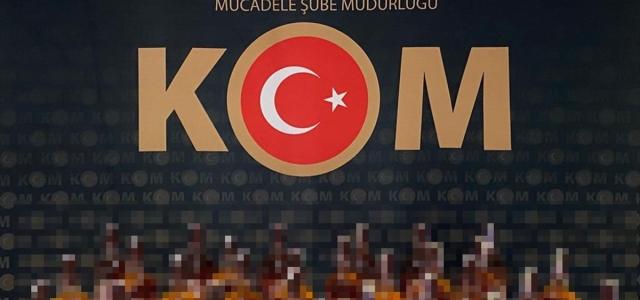 Karabük'te 27 litre gümrük kaçağı içki ele geçirildi