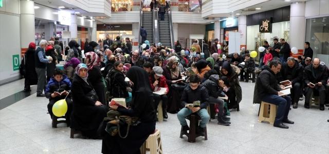 """Karabük'te """"Bize Birlikte Okumak Yakışır"""" etkinliği düzenlendi"""