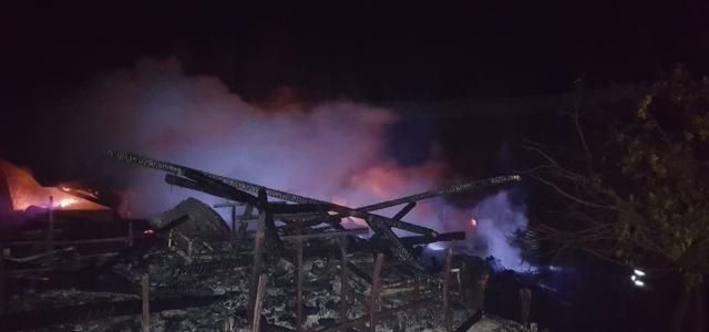 Karabük'te cami yangını