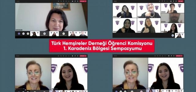 Karabük'te hemşire adaylarının akademik kazanım elde etmesi amacıyla sempozyum düzenlendi