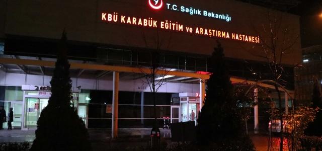 Karabük'te iş insanlarından sağlık çalışanlarına yiyecek ikramında bulunuldu