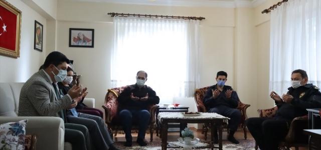 Karabük'te şehit öğretmen Aybüke ve Astsubay Kıdemli Çavuş Akpınar'ın ailelerine ziyaret