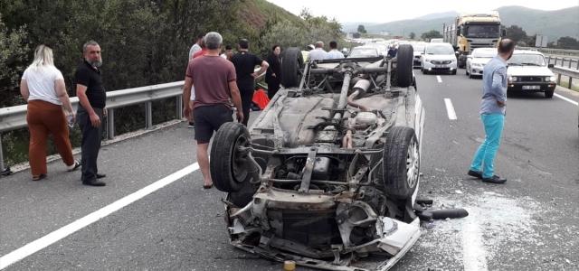 Karabük'te trafik kazaları: 7 yaralı