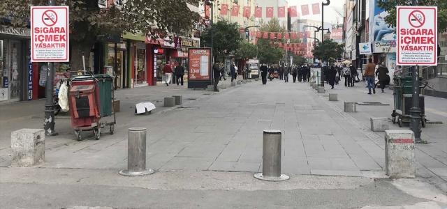 Karabük'ün en yoğun caddesine 400 kişi sınırlaması