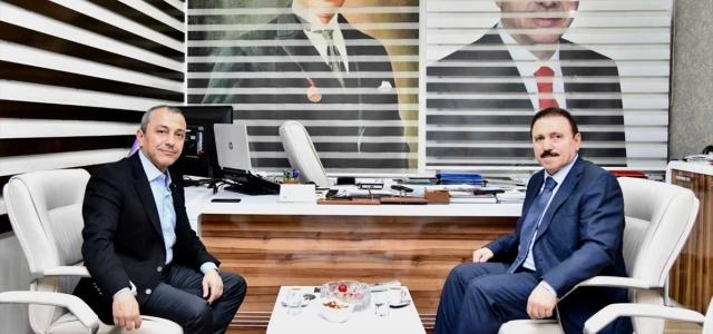 KARDEMİR Yönetim Kurulu Başkanı Yolbulan'dan esnaf odasına ziyaret
