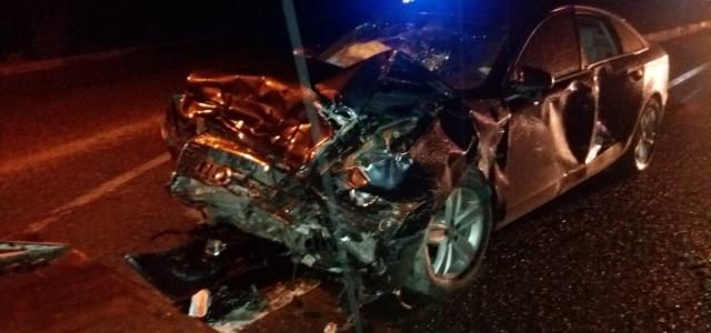 Kastamonu'da iki otomobil çarpıştı: 4 yaralı