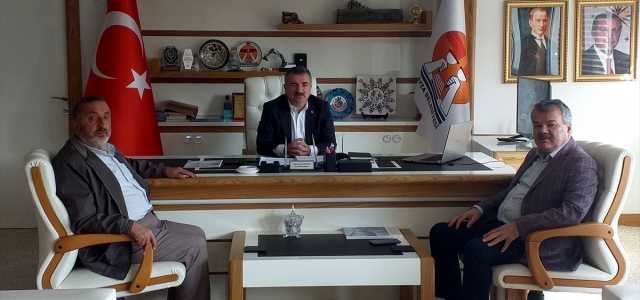 Kültür Memur-Sen Genel Başkanı Erdoğan'dan Başkan Özdemir'e ziyaret