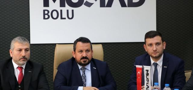 MÜSİAD Bolu Şube Başkanı'nın görevden alınması