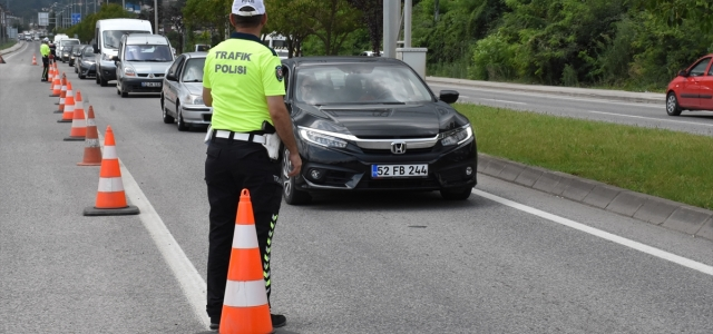 Ordu'da bayramda trafik kazalarında azalma