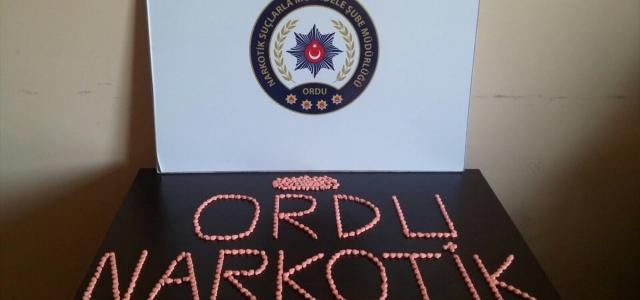 Ordu'da düzenlenen uyuşturucu operasyonlarında 8 kişi gözaltına alındı
