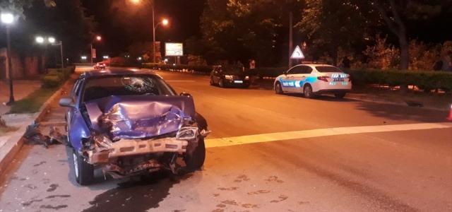Ordu'da iki otomobil çarpıştı: 2 yaralı