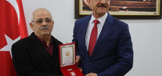 Ordu'da Kıbrıs gazilerine madalya ve berat takdim edildi