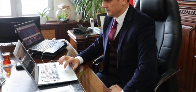 """Rize Cumhuriyet Başsavcısı ile Baro Başkanı AA'nın """"Yılın Fotoğrafları"""" oylamasına katıldı"""