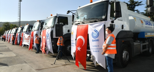 Samsun Büyükşehir Belediyesi araç filosunu genişletti